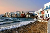 Mykonos, Greece ..................