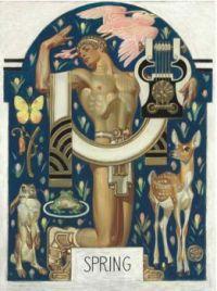 Joseph Christian Leyendecker (1874–1951) Spring: Apollo and Animals (1929)