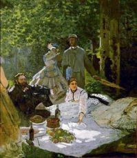 Picnic   Claude Monet