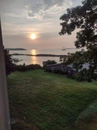Sunrise over Bailey's Island, Maine