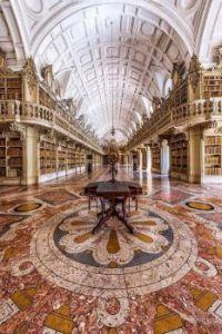 Library at Mafra National Palace, Portugal  6706