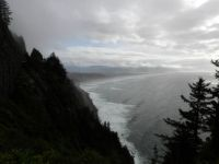 Oregon coast between Tillamook and Cannon Beach