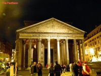 Rome at night, the Pantheon