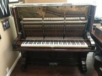 1889 Schubert Upright Piano