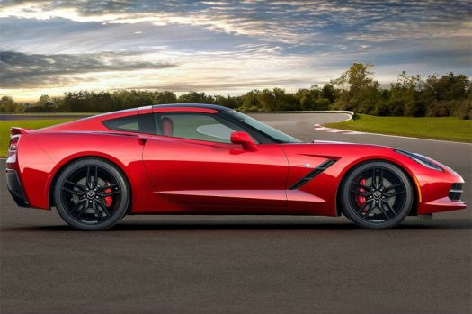 2014 Chevrolet Corvette Stingray Side