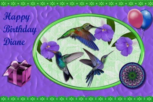 Solve Happy Birthday Diane Dmac Jigsaw Puzzle Online With 15 Pieces
