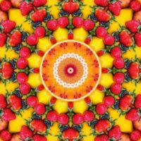 kaleidoscope 450 fruit bowl large