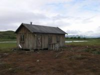 Old woodhouse Lapland Sweeden