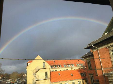 Rainbow in DK