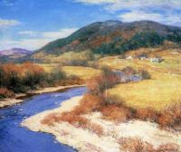 Willard Metcalf - Indian Summer, Vermont