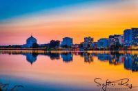 Sunset at Lake Merritt