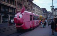 tram de cerdo