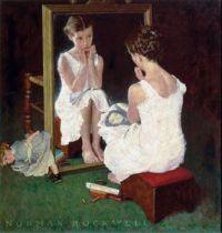 """""""Girl At Mirror"""""""