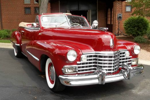 Very Rare n Red 42 Cadillac