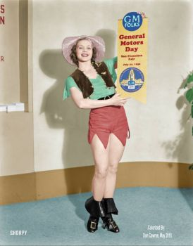 Miss Fisher Body(Colorized) – 1939