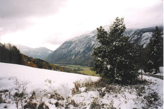 View from the mountain farm, Norway!