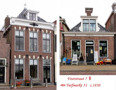 Friesland, Towns and Villages, Makkum. 108 pieces inside.