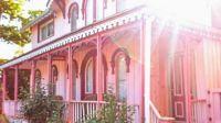 Spotlight Pink Victorian Cottage