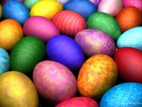 Bright Easter Eggs