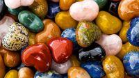 Heart Rocks for Valentine's Day