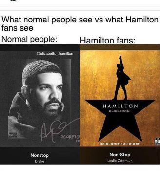 Normal people .vs. Theater kids