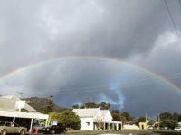 Rainbow over Glenreagh, NSW, Australia