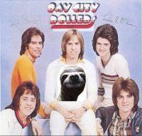 Autographed album cover