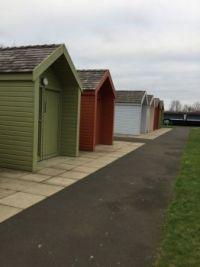 Washroom sheds