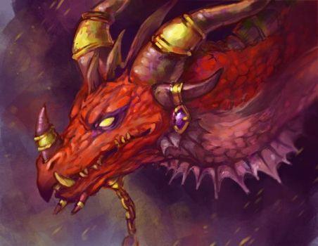 Alexstrasza the Life Binder (Dragon Form)