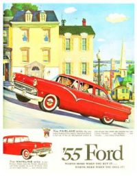 Themes Vintage ads - `55 Ford