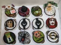 Alice Cooper Cup Cakes
