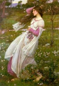 J W Waterhouse Spring