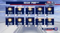 Phoenix 10 day forecast