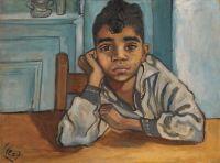 A Spanish boy, 1935