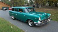 1957 chevy 2 door handyman wagon