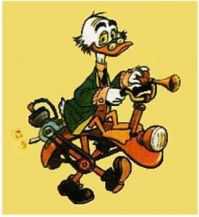 Professor Ludwig von Drake and His Crazy Invention