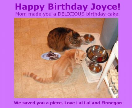 Happy Birthday Joyce/JDCakes1947 and Best Wishes for Many More