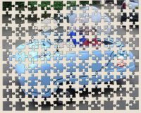 Recycled Jigsaw