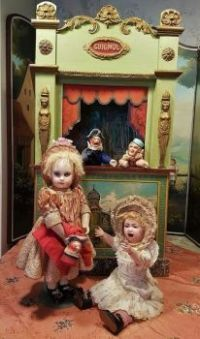 Antique Dolls - Punch and Judy