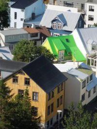 Reykjavik rooftops