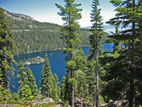 Emerald Bay - High up