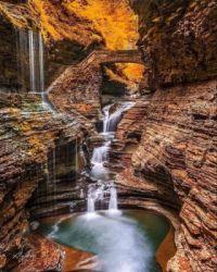 Watkins Glen State Park, New York, USA