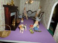 THE LOUNGE OF MY NEW DOLLS HOUSE