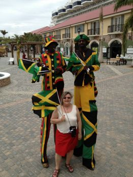 Tall men of Jamaica