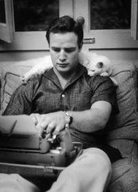 Marlon Brando and Bob