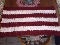 My next project-small crochet throw
