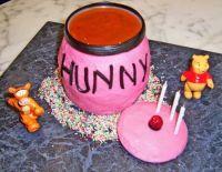 Winnie the Pooh 3rd birthday cake