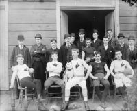 Unknown Early American Football Team (US Library of Congress)