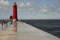 Grand Haven Pier, Grand Haven Michigan