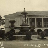 Old photograph of the Arroyo fountain in Iloilo